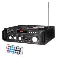 デジタルアンプ オーディオアンプ 最大出力600W(300W+300W) ハイパワー 高音質 重低音調整 USB/SD/Blutooth HiFi マイク対応 リモコン 12V-5Aアダプタ LP298A