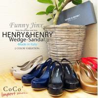 "「HENRY&HENRY」""COCO""ラバー ウェッジソールサンダル(レインサンダル)全ての..."