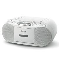 (未使用品) ソニー SONY CDラジカセ レコーダー CFD-S70 : FM/AM/ワイドFM...