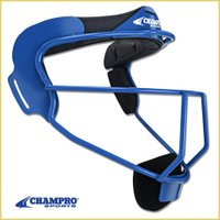 【Champro ソフトボール用 顔面マスク】  米国Champro社製 ソフトボールの野手用の顔面...