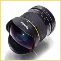 【Opteka 6.5mm 魚眼レンズ OPT65NIK FishEye】  ○デジタル一眼レフ用に...
