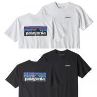 パタゴニア * Patagonia Tシャツ P-6ロゴ レスポンシビリティー Tシャツ メンズ ホワイト ブラック 2色