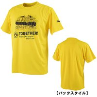 半袖 Tシャツ プーマ PUMA  カラー:サイバーイエロー  素材:ポリエステル100%  ボルシ...