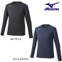 ミズノ MIZUNO メンズ ブレスサーモシャツ(クルーネック) 32MA9643 Tシャツ インナー