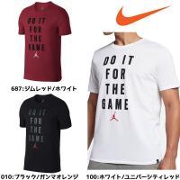 メッセージとジャンプマンロゴのプリントの入ったTシャツ。  カラー:(010)ブラック/ガンマオレン...