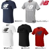 ニューバランスから、フロントに「NB」のビッグロゴをデザインした定番のロゴTシャツです。  ・吸汗速...