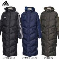 【種別】サッカーベンチコート  【メーカー】アディダス/adidas  【カラー】AY4578:ブラ...