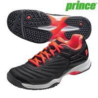 【送料無料】【セール】プリンス Prince テニスシューズ DPS901-414 メンズ テニスシューズ クレー オムニコート対応 練習 試合 ブラック 特価