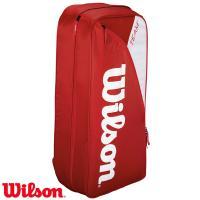 【種別】テニスバッグ(バックパック)  【メーカー】ウィルソン(Wilson)  【カラー】レッド/...