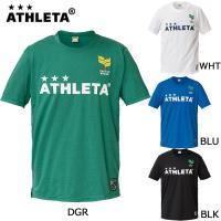 【種別】サッカー Tシャツ  【メーカー】アスレタ(ATHLETA)  【カラー】WHT、DGR、B...
