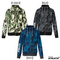アスレタフリースカモフラパーカー!  【メーカー】 アスレタ/ATHLETA  【素材】 フリース ...