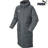 人気ブランドPUMA(プーマ)のメンズ トレーニング ダウンコート。 袖口インナーカフス、両サイドの...