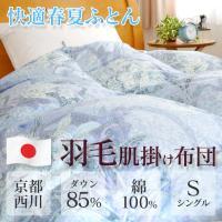 【夏物早割10%クーポン 6/13 09:59迄】四季のある日本では肌掛け布団は必需品。季節の変わり...
