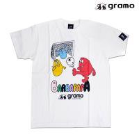 gramoの×BARBAPAPA パス-T!!  グラモとバーバパパのコラボ商品のTシャツです。 ス...