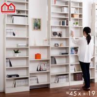 ■商品名 天井つっぱり書棚 スラスト 幅45cm 奥行19cm オープンタイプ ■取扱タイプ ブラウ...