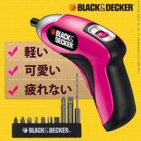 ■商品名 BLACK&DECKER 充電式電動ドライバー ピンク  ■商品仕様 本体:ABS樹脂 【...