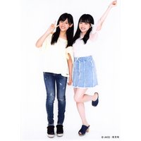 向井地美音 中川美音 生写真 AKB48 じゃんけん大会 公式ガイドブック2017 購入特典 Wみお...