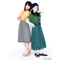 山内鈴蘭 竹内美宥 生写真 AKB48 じゃんけん大会 公式ガイドブック2017 購入特典 竹山  ...
