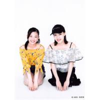 井尻晏菜 溝川実来 生写真 AKB48 じゃんけん大会 公式ガイドブック2017 購入特典 はんなり...
