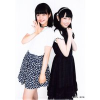 渥美彩羽 坂本真凛 生写真 AKB48 じゃんけん大会 公式ガイドブック2017 購入特典 Fluf...