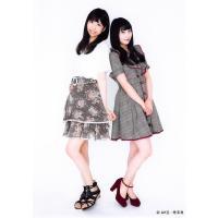 堀詩音 鵜野みずき 生写真 AKB48 じゃんけん大会 公式ガイドブック2017 購入特典 鹿vs熊...