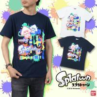 大人気アクションシューティングゲーム『Splatoon(スプラトゥーン)』から、半袖Tシャツが登場し...