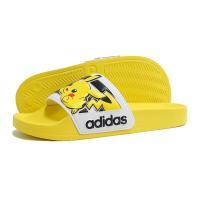 【KID'S】adidas(アディダス)ADILETTE K(アディレッタ)(FW7430/イーキューティーイエロー) キッズ 子供靴 サンダル シャワーサンダル ポケモン ピカチュウ