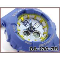 CASIO BABY-G 逆輸入海外モデル カシオ ベビーG アナデジ 腕時計 ブルー BA-120...