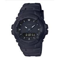 [5年間保証対象] カシオ Gショック G100ベース アナデジ 腕時計 ブラック G-100BB-...