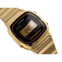 CASIO カシオ スタンダード デジタル レディース腕時計 逆輸入海外モデル ブラック ゴールド ...