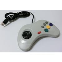 セガサターン6ボタンパッド形状のパソコン用USB接続コントローラーです。デジタル操作の6ボタン格闘ゲ...