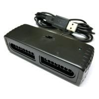 PCにてSNES(スーパーファミコン)コントローラーを使用するためのUSBコンバーターです。2つ同時...