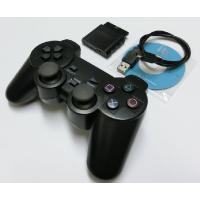 PS1/PS2/PS3/PC用のワイヤレスコントローラーです。振動機能も搭載されております。コントロ...