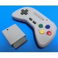 SFC(スーパーファミコン)にて使用可能な2.4Ghzワイヤレスコントローラーです。複数同時使用も可...