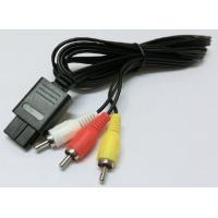安価なGC.N64.SFC用ステレオAVケーブルです。AV仕様のNEW FC本体でも利用可能です。 ...