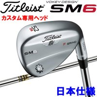 Titlist VOKEY DESIGN SM6 カタログ外品 特注専用ヘッド 5208F 5410...