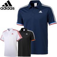 ゴルフにも最適 半袖ポロシャツ  THE adidasというようなイメージでカントリーカラーに イン...