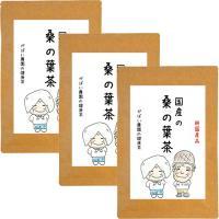 桑の葉茶 3g×40包 (お得な3個セット) 無農薬 国産(長野県・徳島県産)残留農薬・放射能検査済 gabainouen