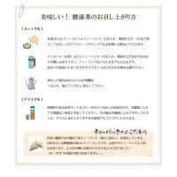 オーガニック グリーンルイボスティー 3g×30包 無農薬 残留農薬・放射能検査済 gabainouen 04