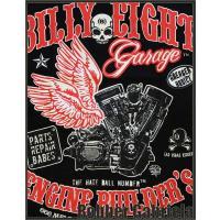 [Billy Eight]レディース Tシャツ・V-TWINエボ (半袖)
