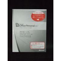 商品名:Office Personal 2007 マイクロソフト オフィス パーソナル 2007 O...