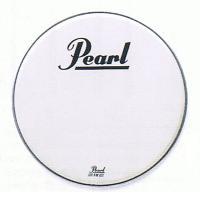 22インチ スムーズホワイト パールヘッド Pearlバスドラムヘッド