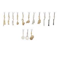 music gift シリーズの楽器ストラップ  管楽器、弦楽器、打楽器と揃っています。  トロンボ...