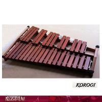 こおろぎ社 KOROGI 音板材=輸入カリン材 音板(幅×厚さ)=32×19mm F57-C88 2...