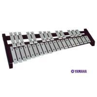 ヤマハ 卓上鉄琴 TG-60は、32音(F〜C)アルミ音板(派生音付き)。マレット付き。