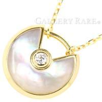 カルティエ ネックレス アミュレット ドゥ カルティエ XS ダイヤモンド 0.02ct ホワイトマ...
