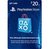 PlayStation Network Store Gift Card $20 (輸入版:北米) P...
