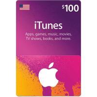 【北米/アメリカ】iTunes Gift Card $100 / アイチューンズ ギフトカード 100ドル