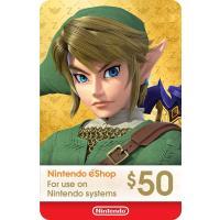 【北米版】Nintendo eshop Card $50 / ニンテンドー eショップ カード 50ドル