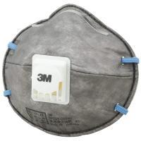 【特長】●3M[[TM]]独自の排気弁により、呼吸が楽です。●活性炭フィルターにより嫌な臭いにも有効...